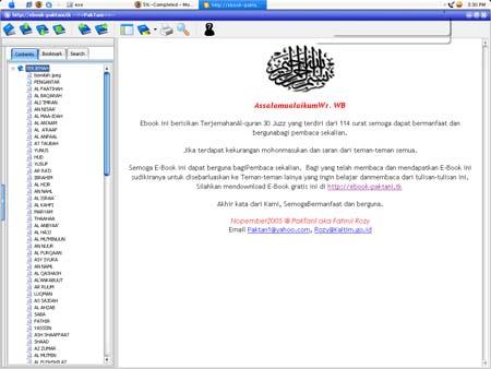 alquran Tafsir Al Quran Lengkap 30 juzz